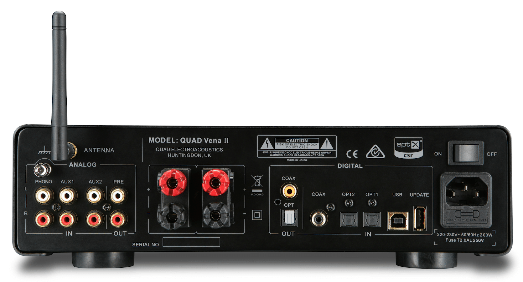 Vena II Amplifier From Quad