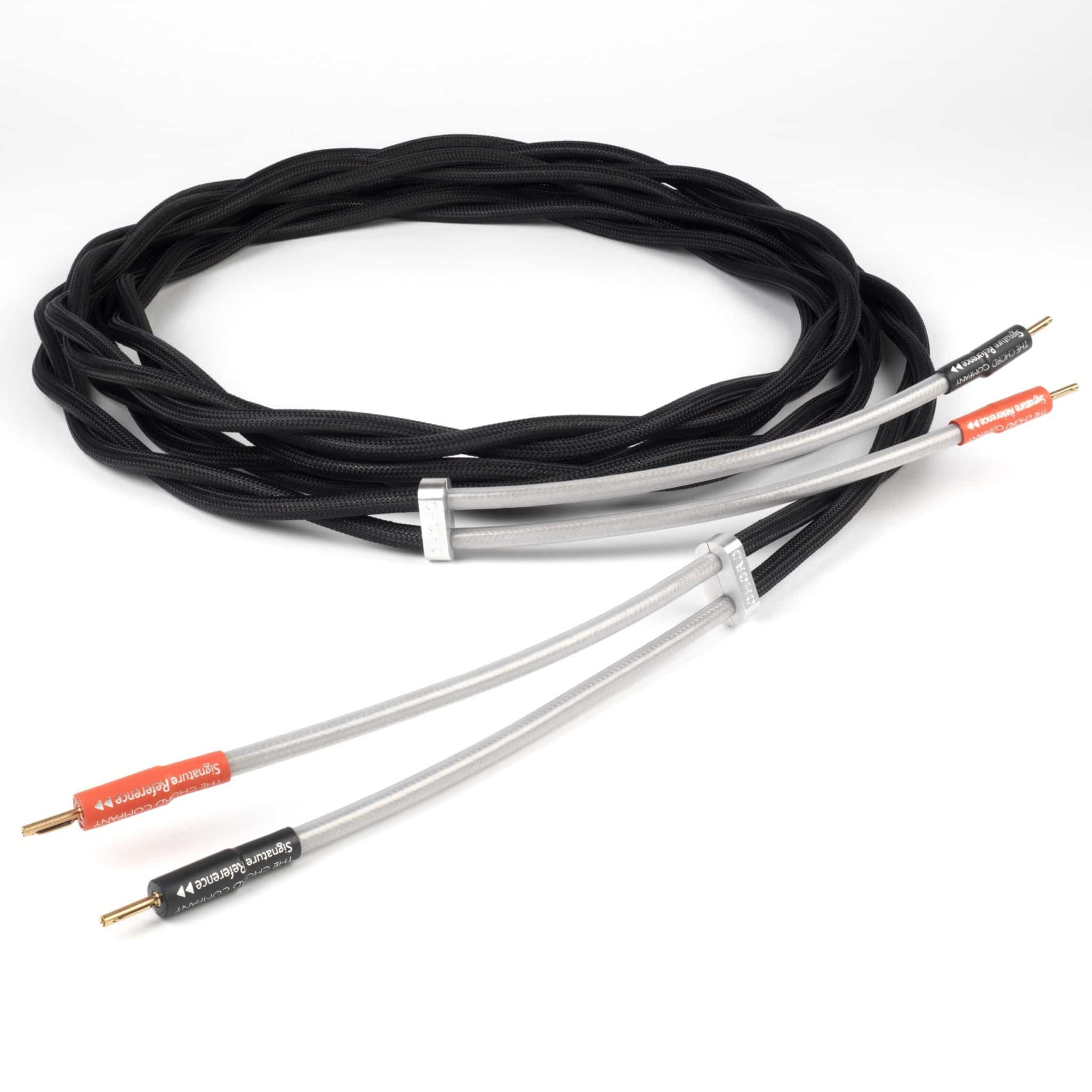 signature reference speaker cables from chord the audiophile man. Black Bedroom Furniture Sets. Home Design Ideas