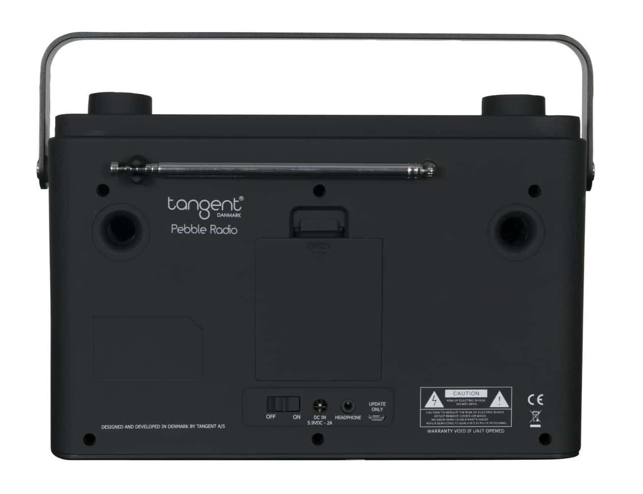 Pebble Portable Radio From Tangent