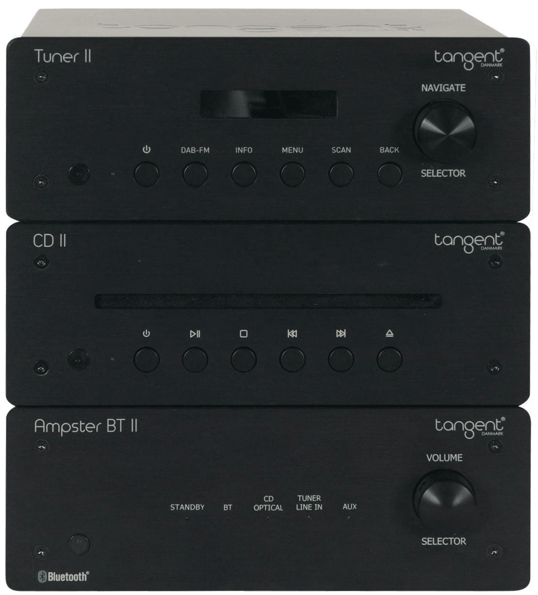 Ampster II BT amp, CD and Tuner From Tangent