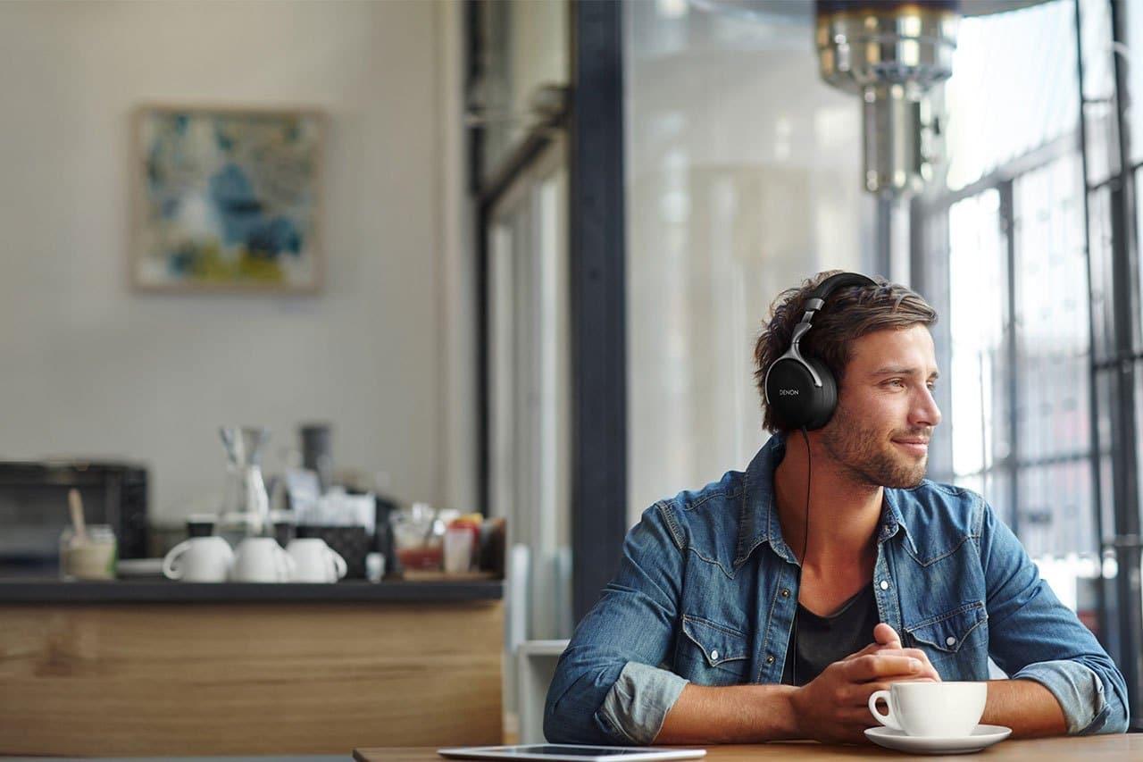 GC headphones From Denon