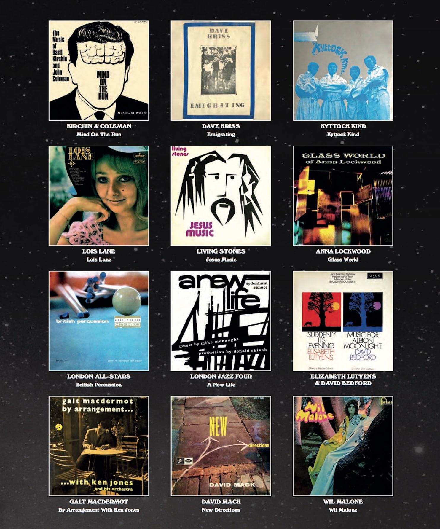 GALACTIC RAMBLE: 60s And 70s UK Music