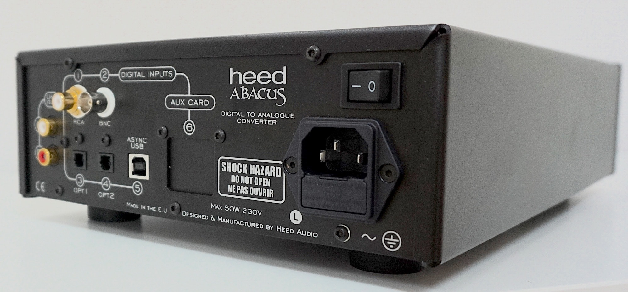 Abacus DAC From Heed: The Digital Gentleman