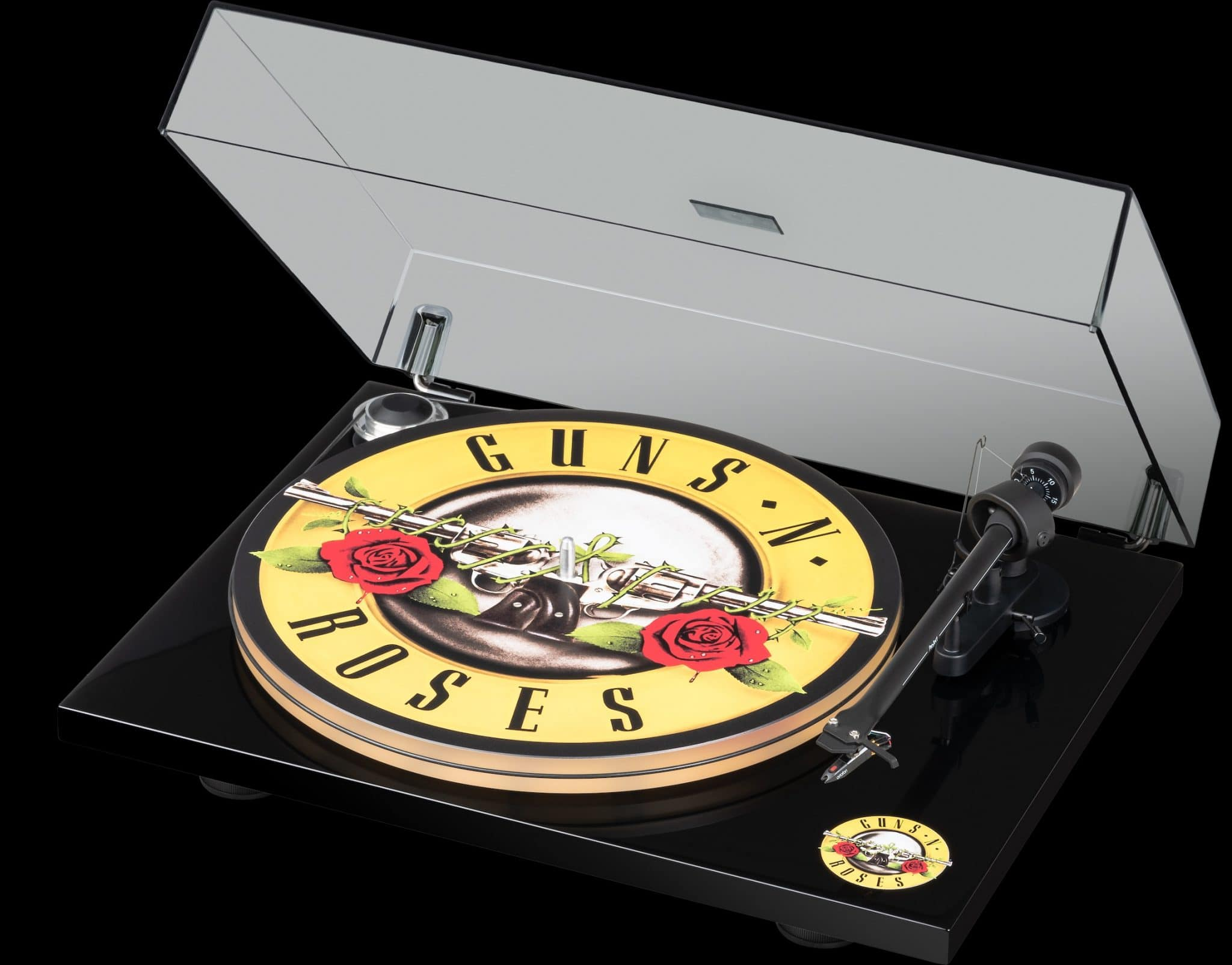 Guns N' Roses Turntable From Pro-Ject