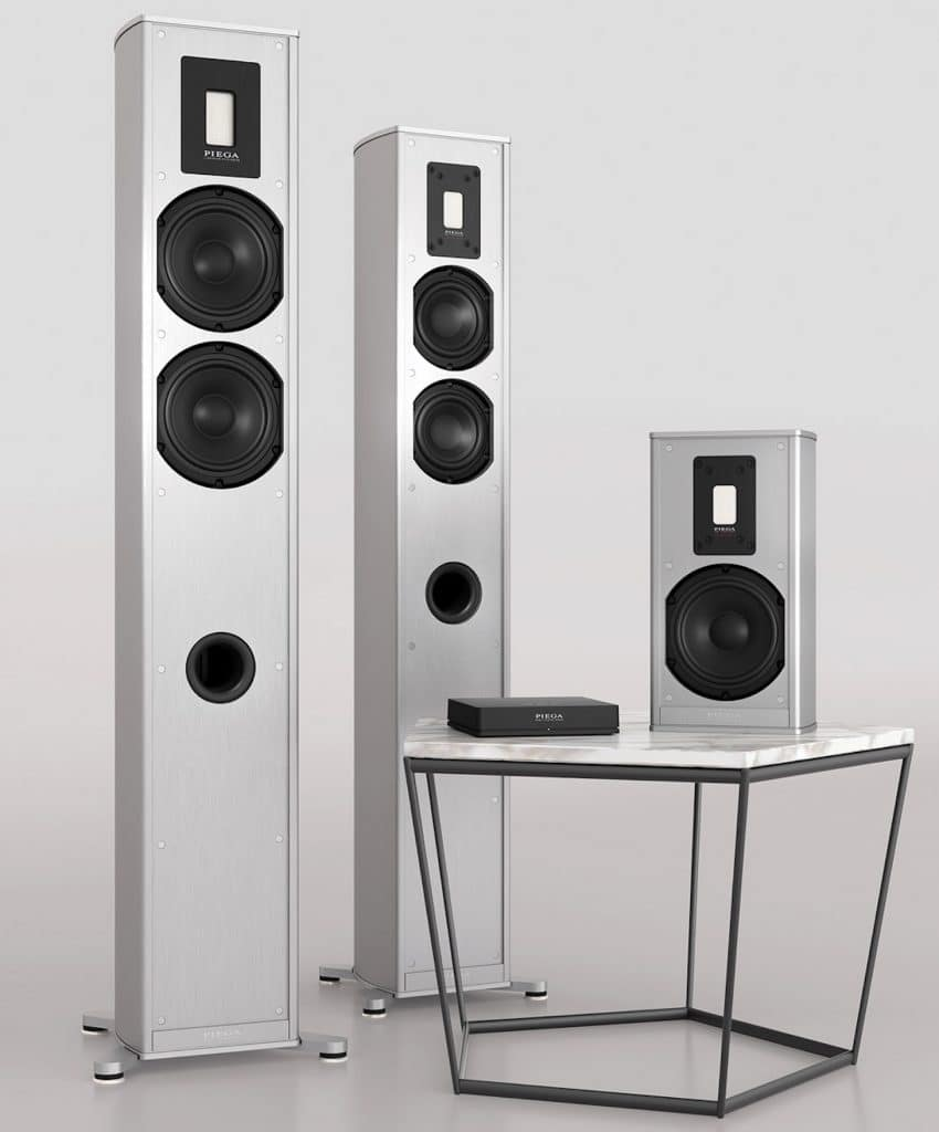 Wireless Speaker System From Piega