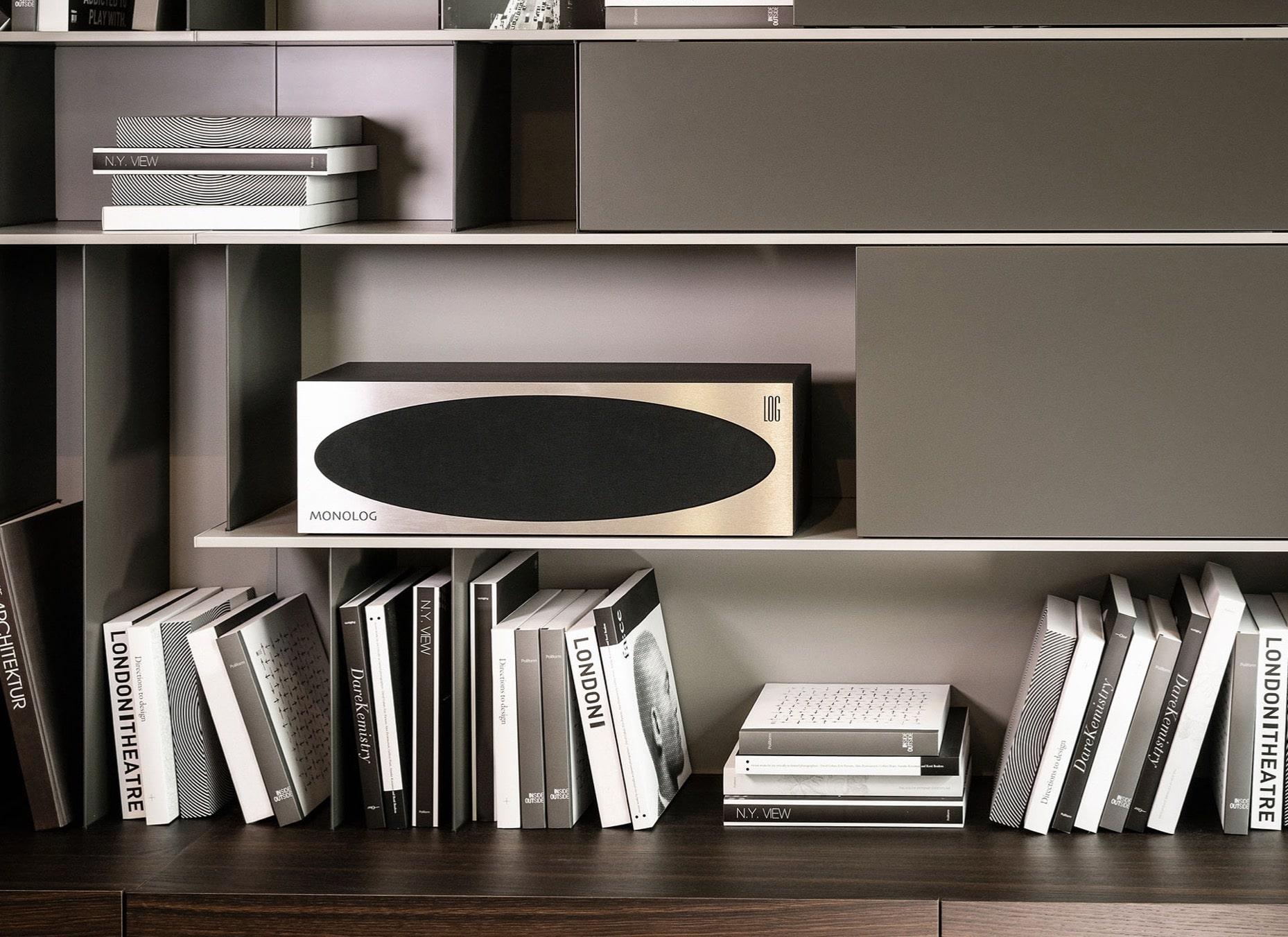 Mono active speakers from Log Audio