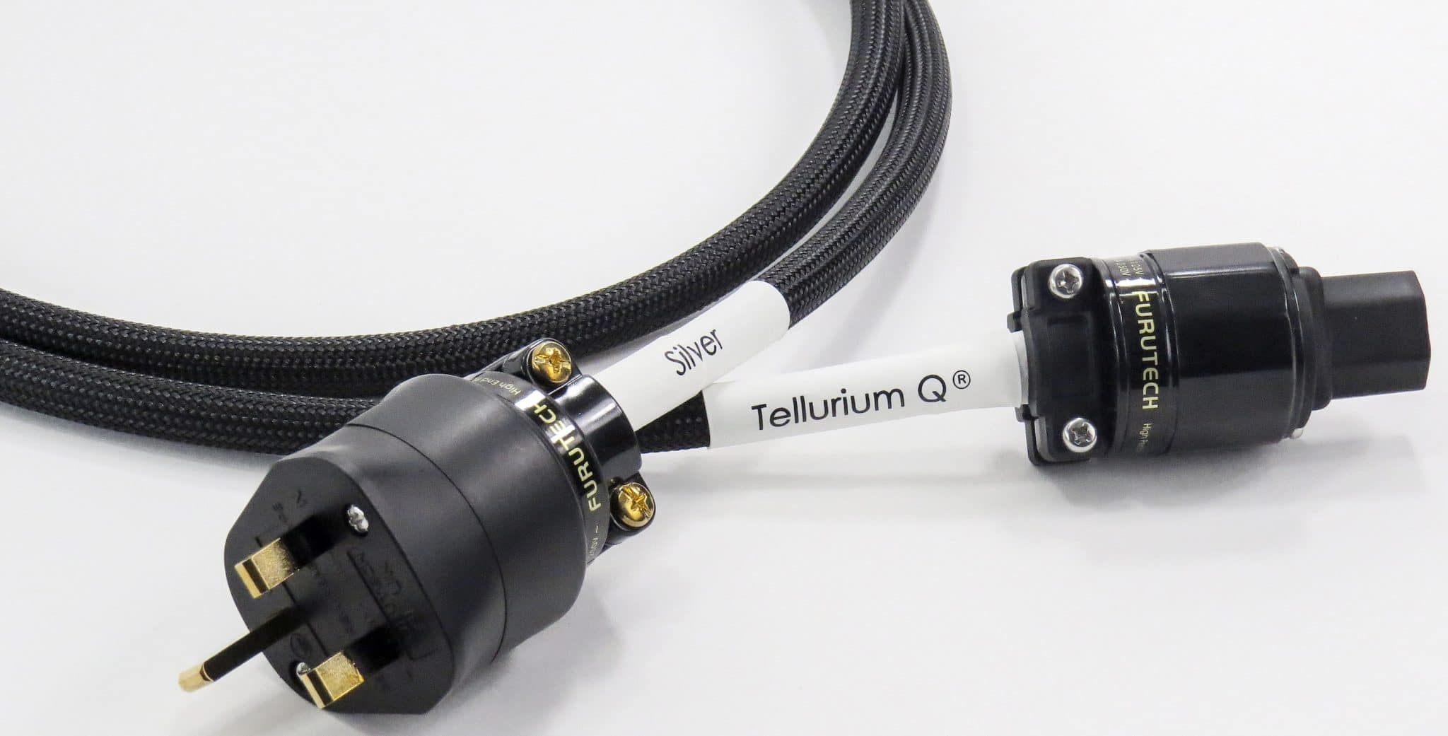Silver Mains Cabling From Tellurium Q