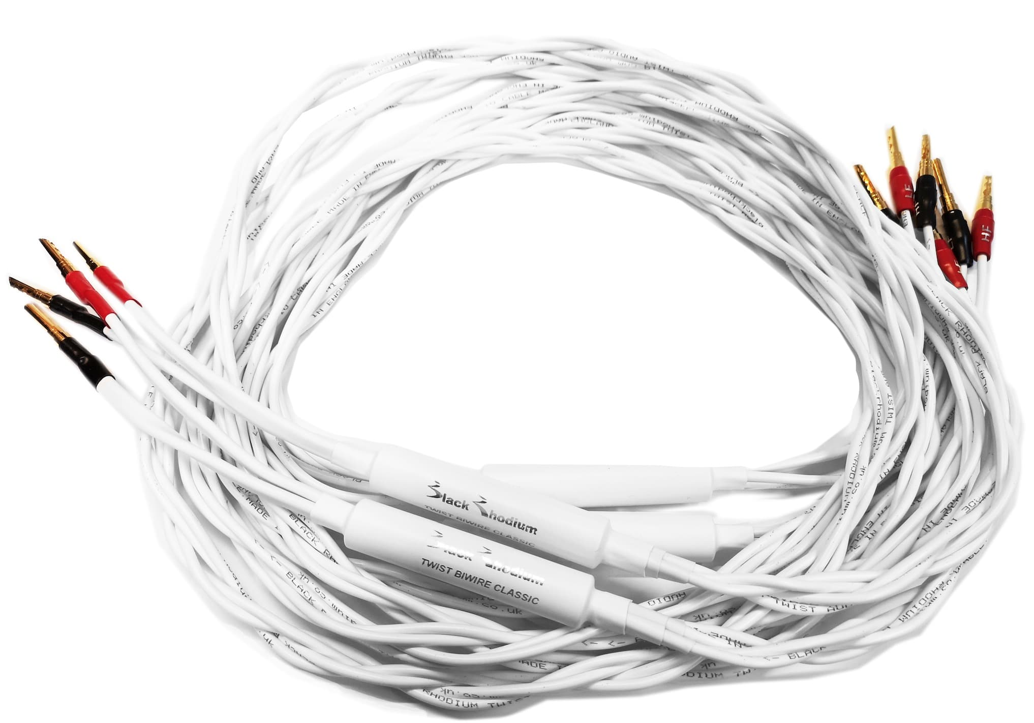 Twist Classic Bi-Wire Speaker Cable