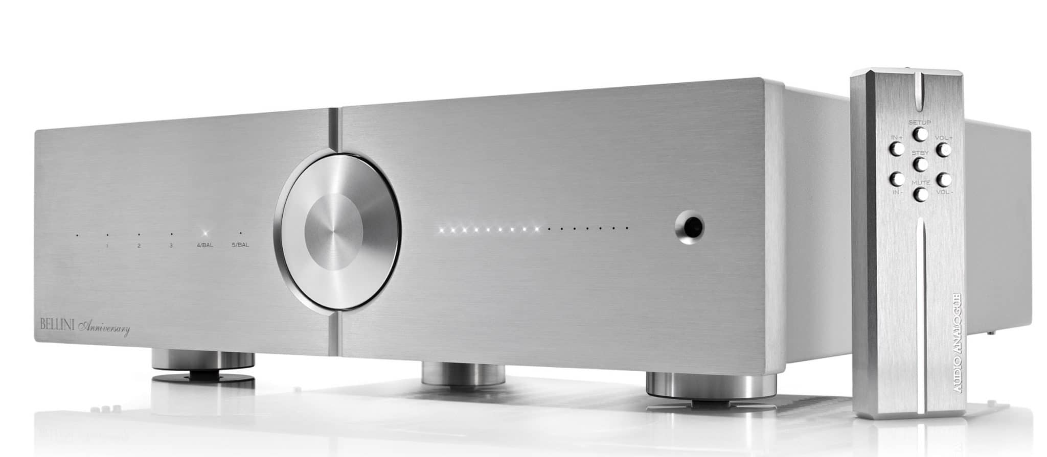 Bellini & Donizetti Amps From Audio Analogue