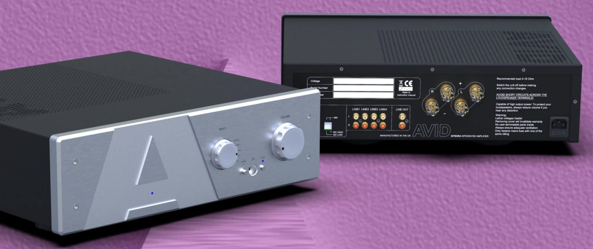 INTEGRA Amplifier From AVID