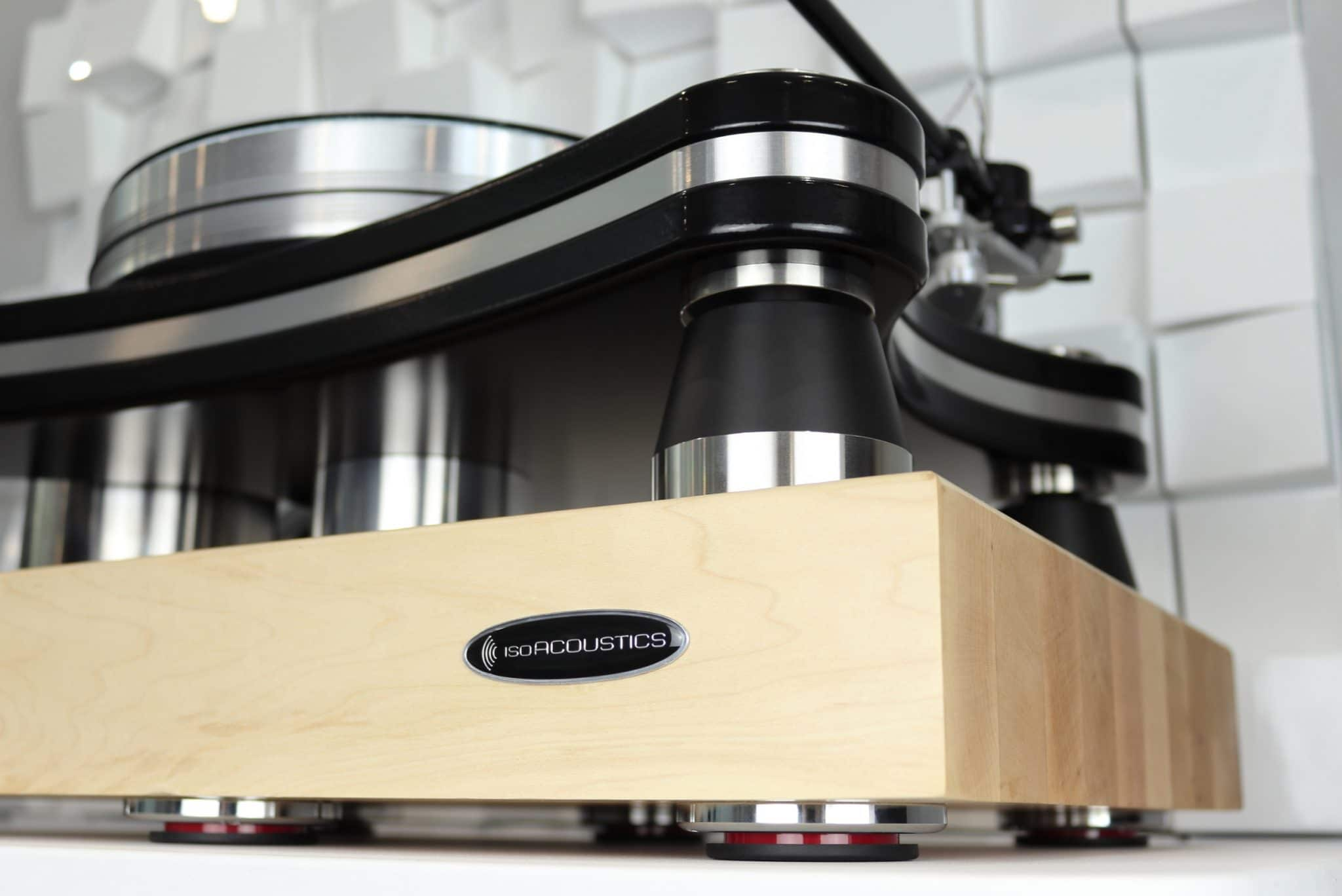 Delos isolation platform From IsoAcoustic
