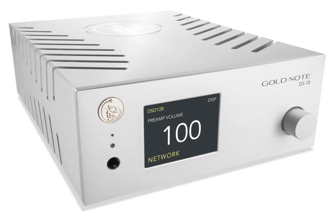 DS-10 DAC From Gold Note - The Audiophile Man