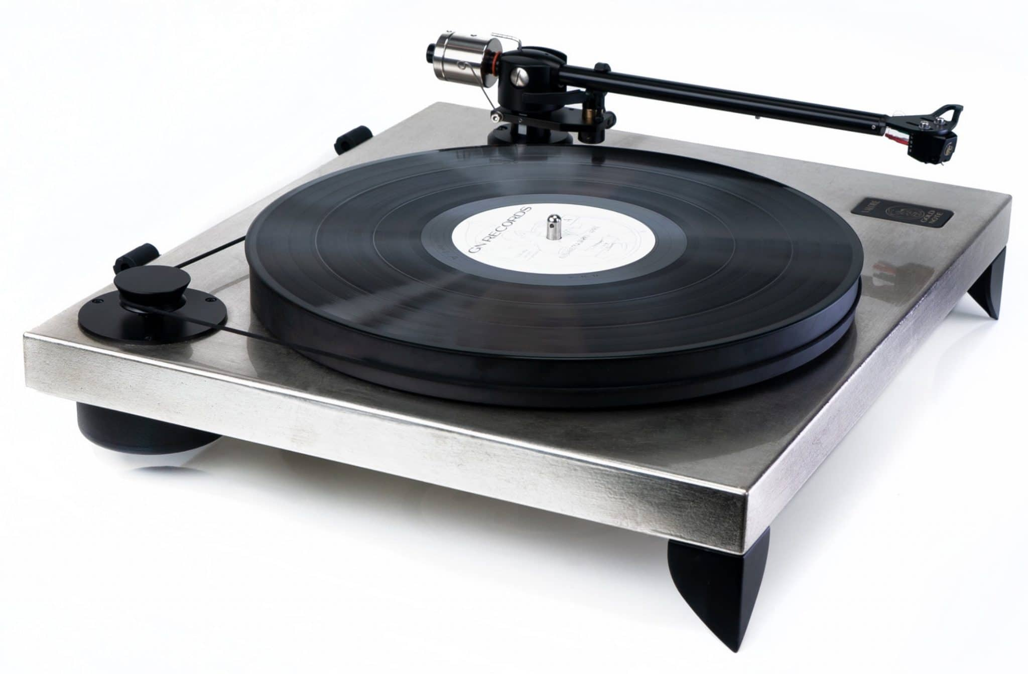 Metallic Turntable Finish From Gold Note
