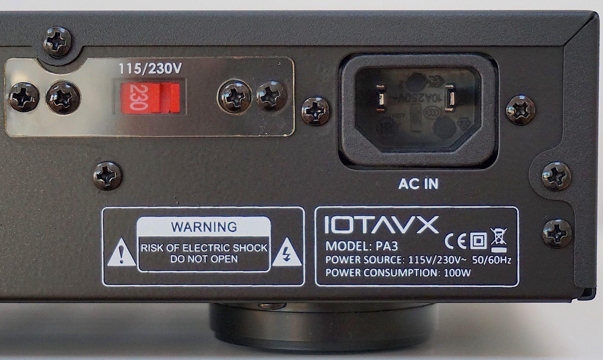 PA3 Power Amplifier From IOTA