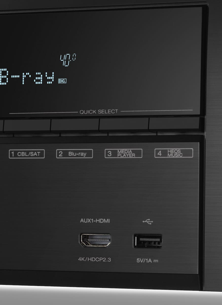 AVR-X3600H From Denon: IMAX powered