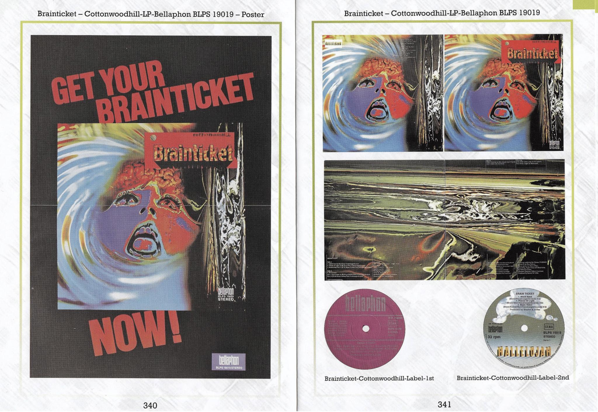 Vertigo Swirl Label: Discography & Price Guide